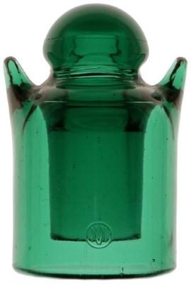 CD 642 ['V' and 'M' logo] {France}, Green Aqua; Gingerbread man!
