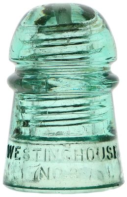 CD 102 WESTINGHOUSE / NO.3, Light Green; Uncommon color and neat character!