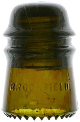CD 121 BROOKFIELD, Olive Amber; Always popular with the Brookfield collectors!