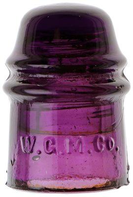 CD 121 W.G.M.CO., Dark Purple; Nice, colorful Denver!
