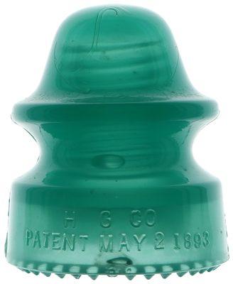 CD 164 H.G.CO., Jade Green Milk; A gem of a jade!