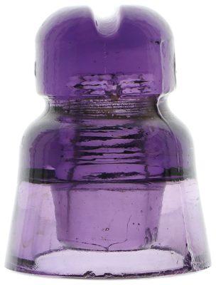 """CD 565.1 CH3 III {Russia}, Rich Purple w/ Purple Swirls; Purple plus purple adds """"pop""""!"""