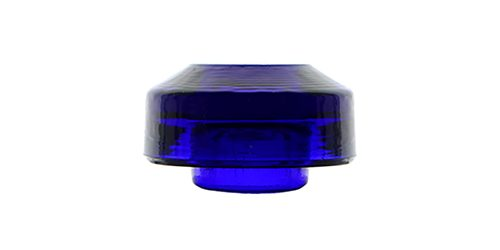CD 22 {Unembossed}, Vibrant Violet Cobalt Blue; Stunning battery rest!