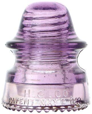 "CD 164 H.G.CO., Lilac Purple; A ""top shelf"" piece for sure!"