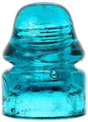CD 133.1 HOMER BROOKE'S, Bright Brooke's Blue w/ Milk; Striking Blue with milk!