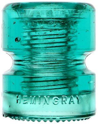 CD 185 HEMINGRAY // No 95, Blue Aqua; Perfect drip points!