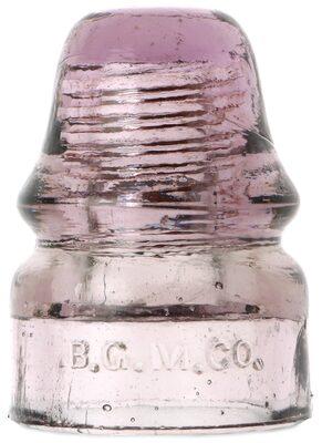 CD 133 B.G.M.CO., Light Purple; Beautiful example!