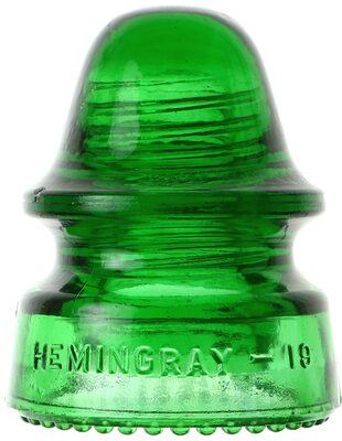 CD 162 HEMINGRAY-19, 7-up Green; Classic 7-up Green!