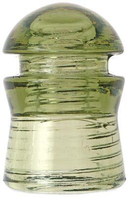 CD 408 TURDA {Romania), Smokey Light Olive Green; Better condition than many, unusual color!